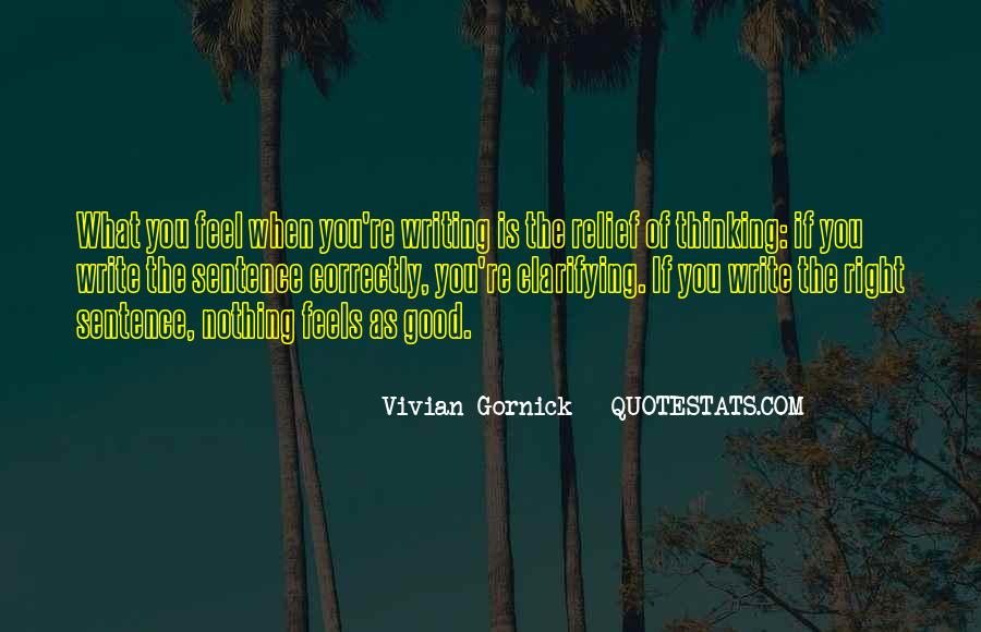 Vivian Gornick Quotes #382153