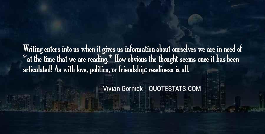 Vivian Gornick Quotes #384560