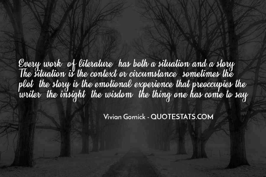 Vivian Gornick Quotes #640794