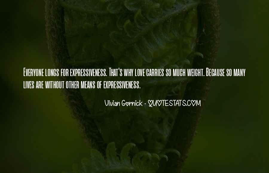 Vivian Gornick Quotes #668994