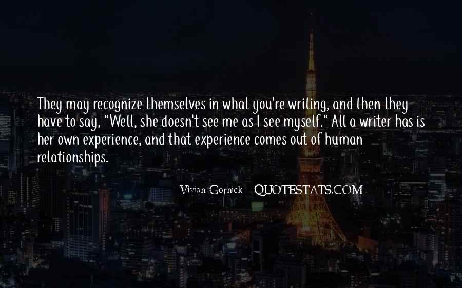Vivian Gornick Quotes #907232