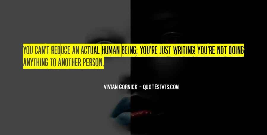 Vivian Gornick Quotes #928073