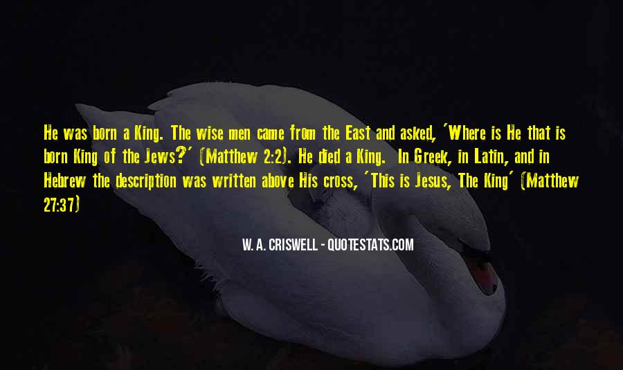 W A Criswell Quotes #1555362