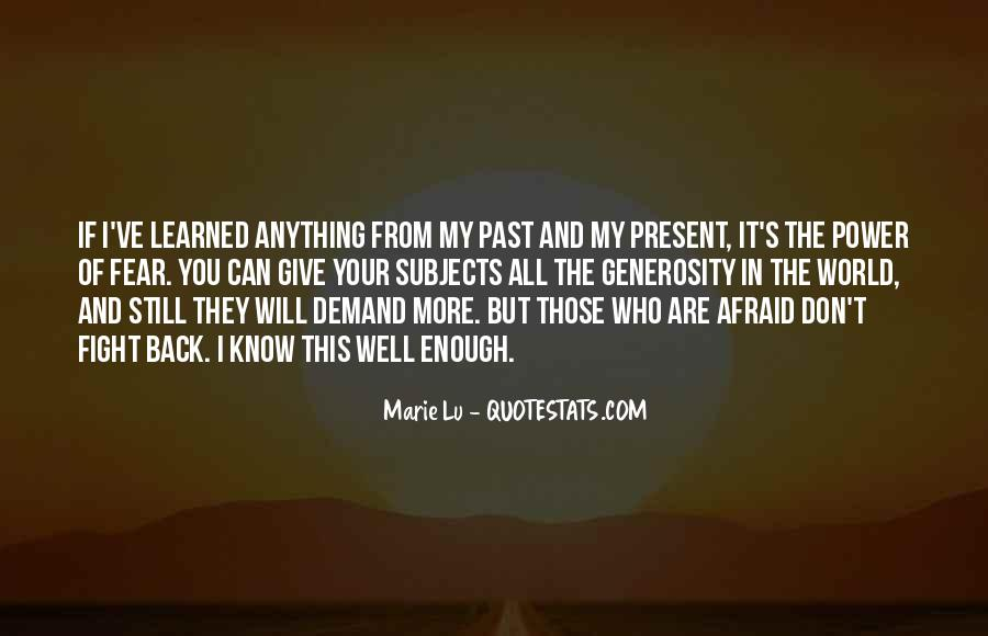 Quotes About Your Past #92670