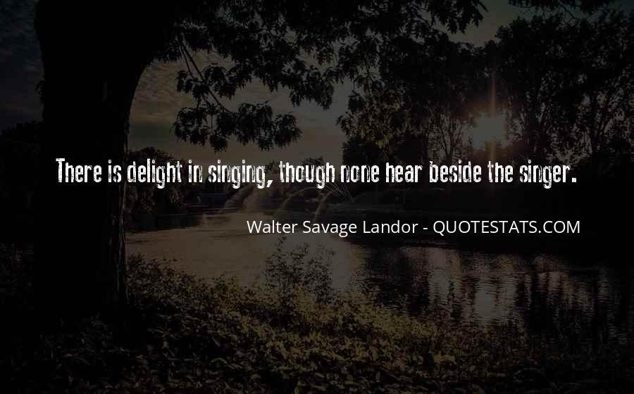 Walter Savage Landor Quotes #170099