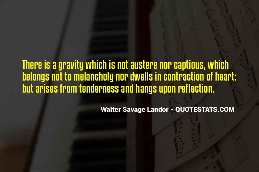 Walter Savage Landor Quotes #300536