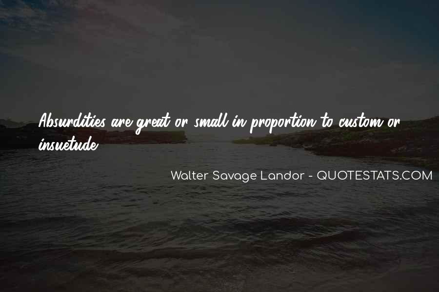 Walter Savage Landor Quotes #322003