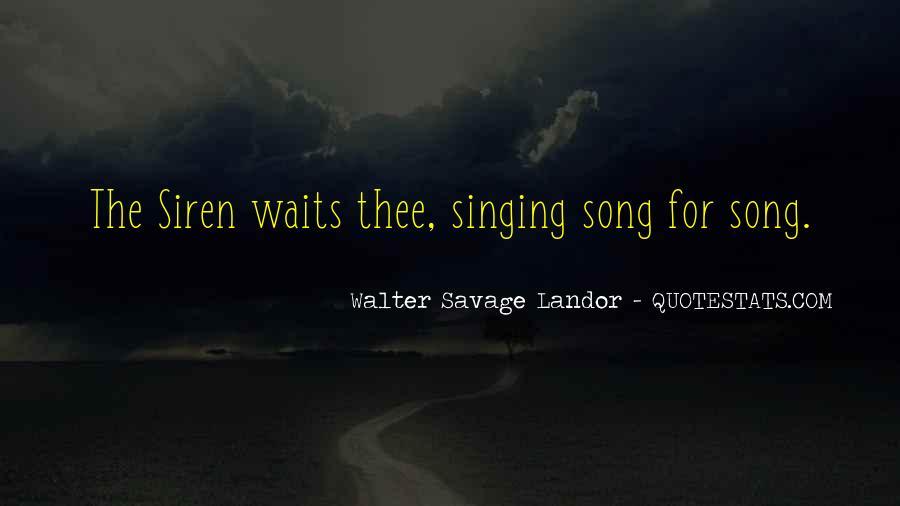 Walter Savage Landor Quotes #484182