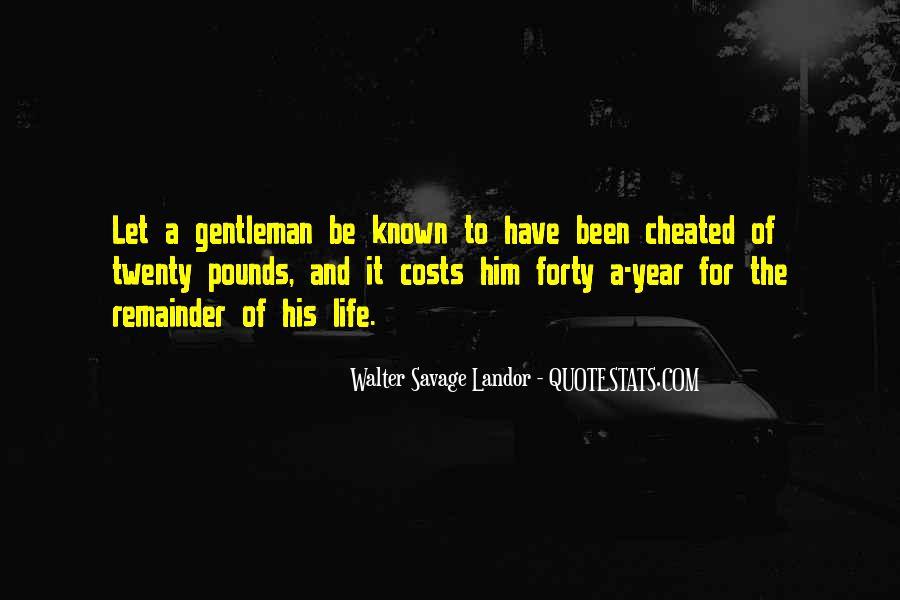 Walter Savage Landor Quotes #564626