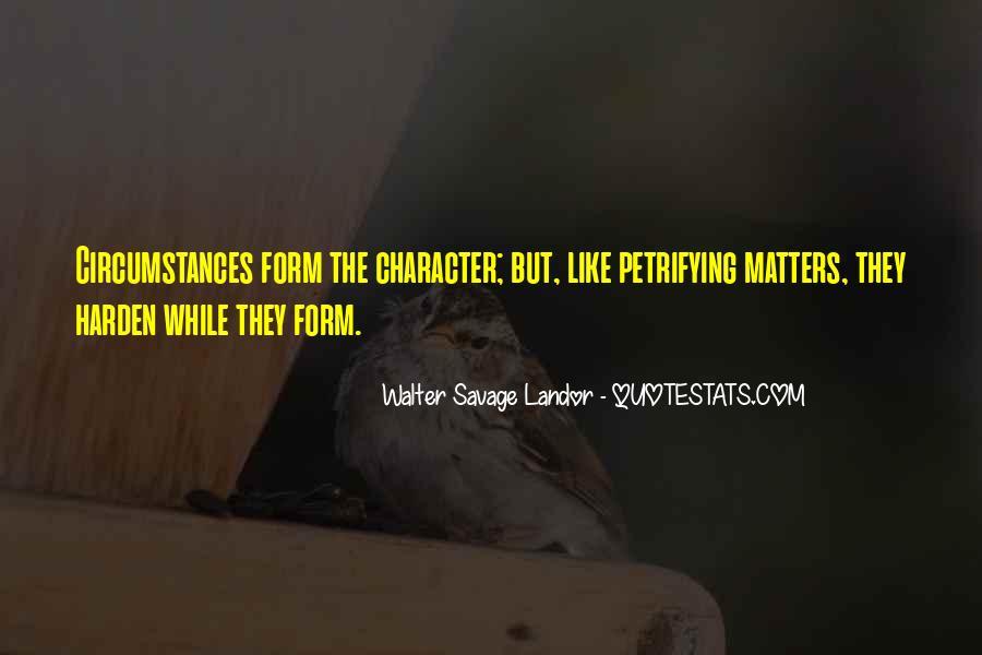 Walter Savage Landor Quotes #579772