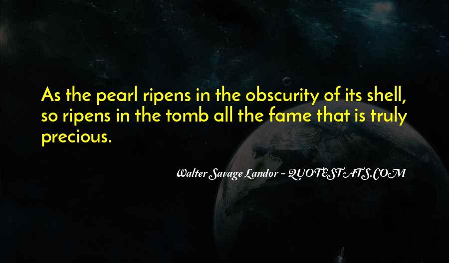 Walter Savage Landor Quotes #660784