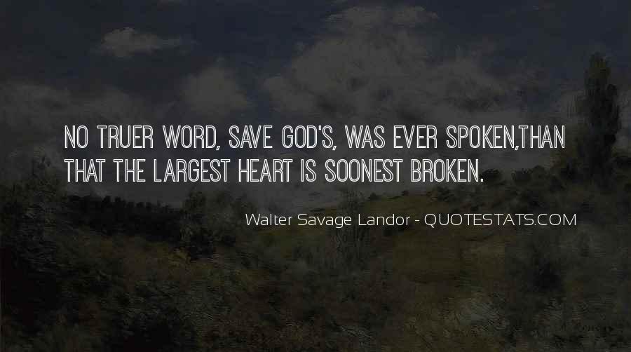 Walter Savage Landor Quotes #672711