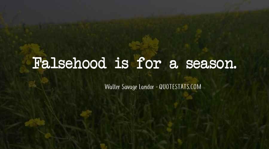 Walter Savage Landor Quotes #736629