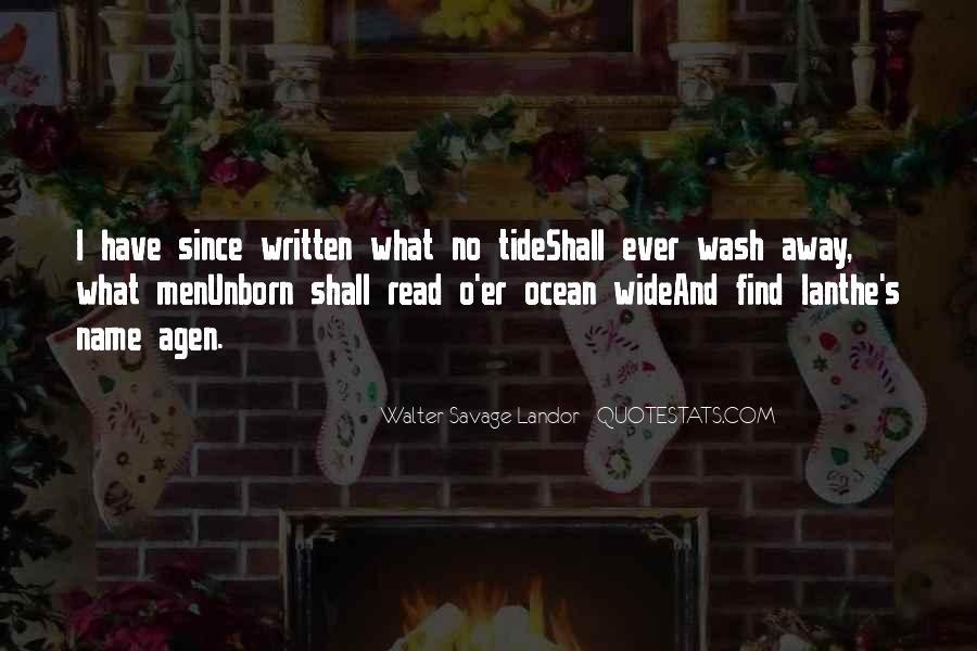 Walter Savage Landor Quotes #794857