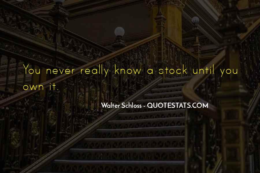 Walter Schloss Quotes #139676