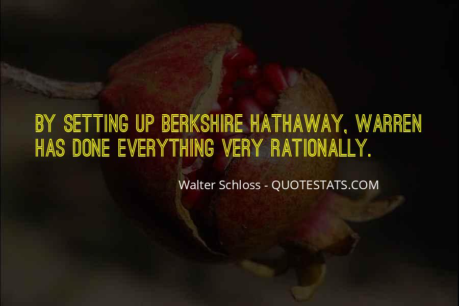 Walter Schloss Quotes #559112