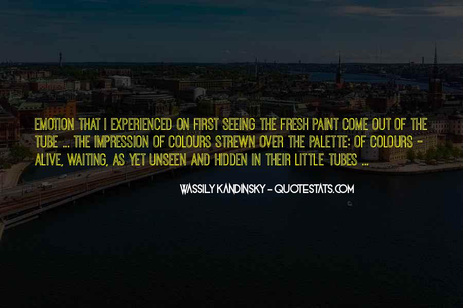 Wassily Kandinsky Quotes #129722