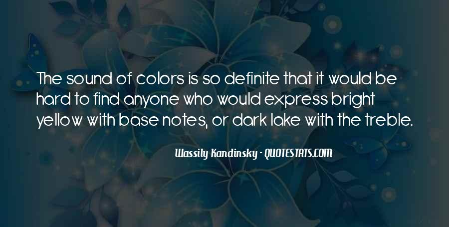 Wassily Kandinsky Quotes #135101