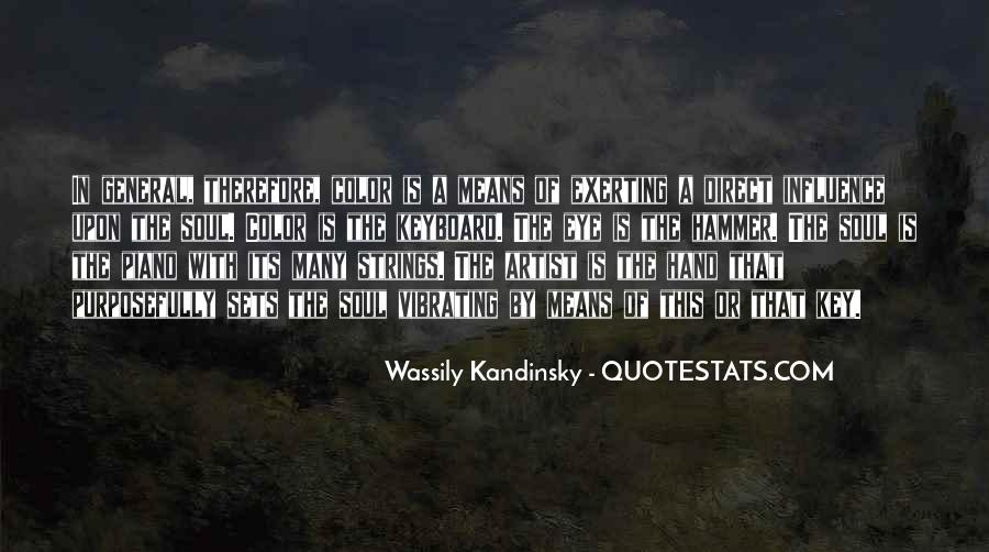 Wassily Kandinsky Quotes #1476555