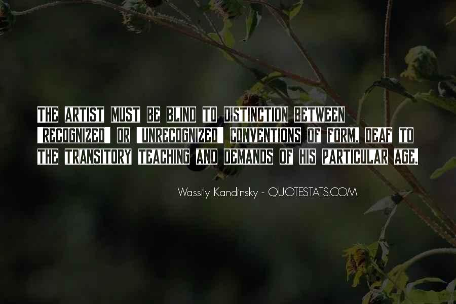 Wassily Kandinsky Quotes #1490477