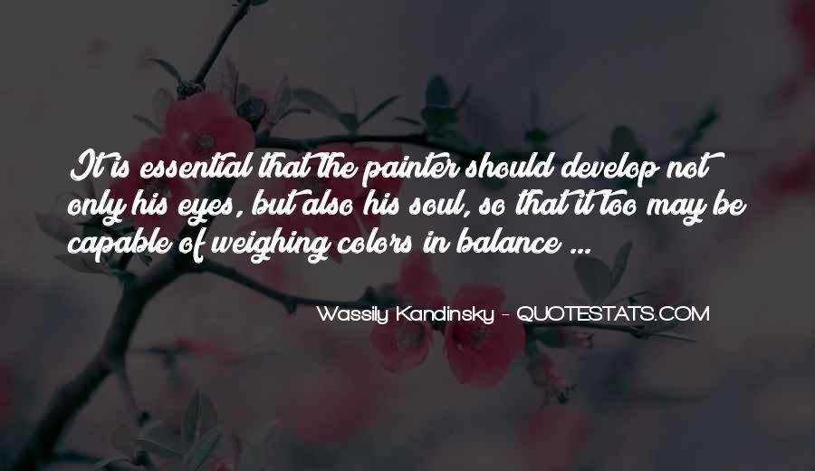 Wassily Kandinsky Quotes #231821