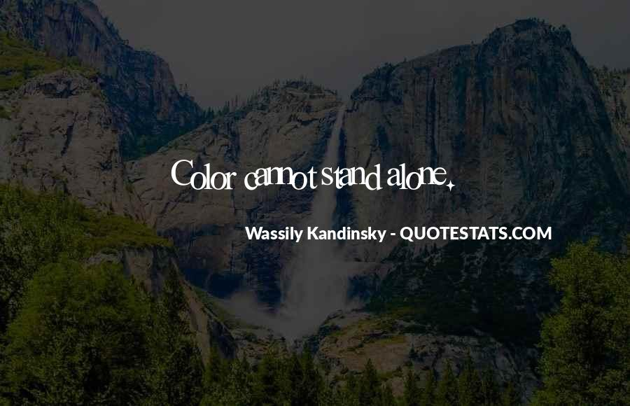 Wassily Kandinsky Quotes #65159