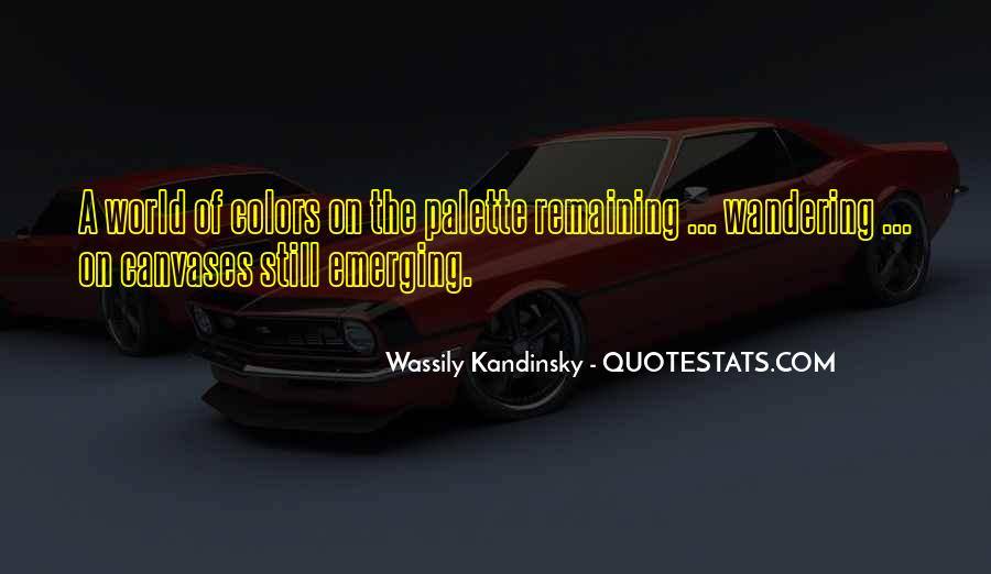 Wassily Kandinsky Quotes #657380