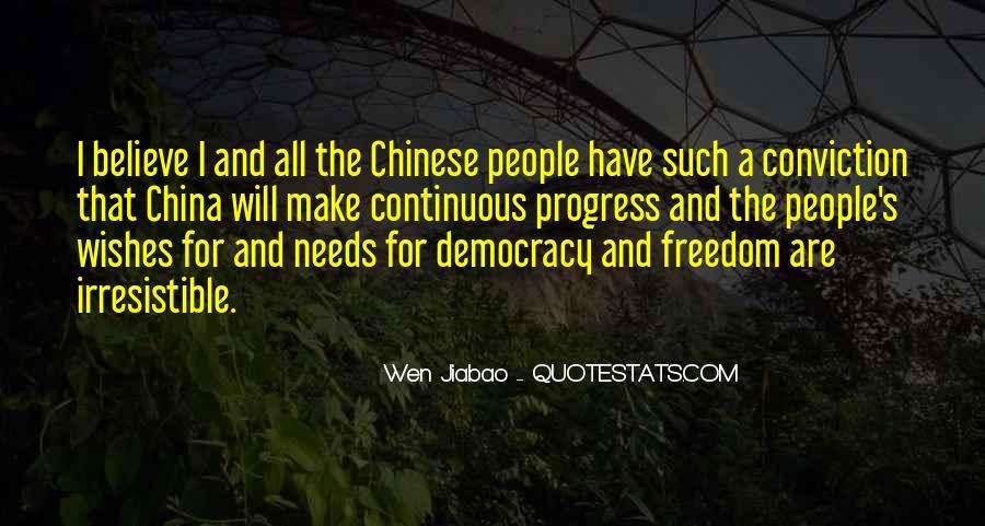 Wen Jiabao Quotes #1029941