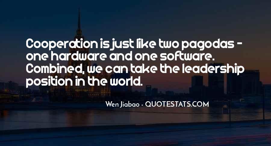 Wen Jiabao Quotes #1192882
