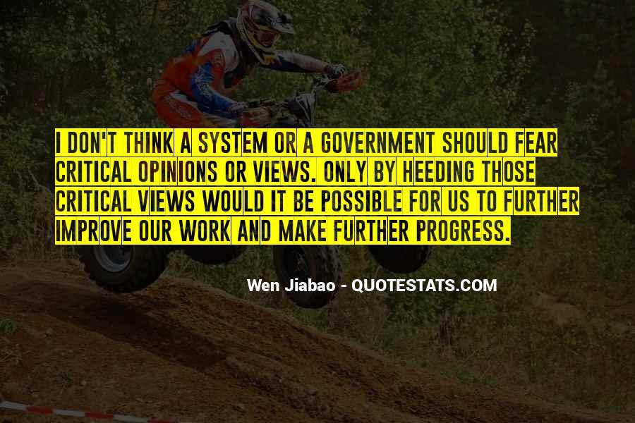 Wen Jiabao Quotes #1517951