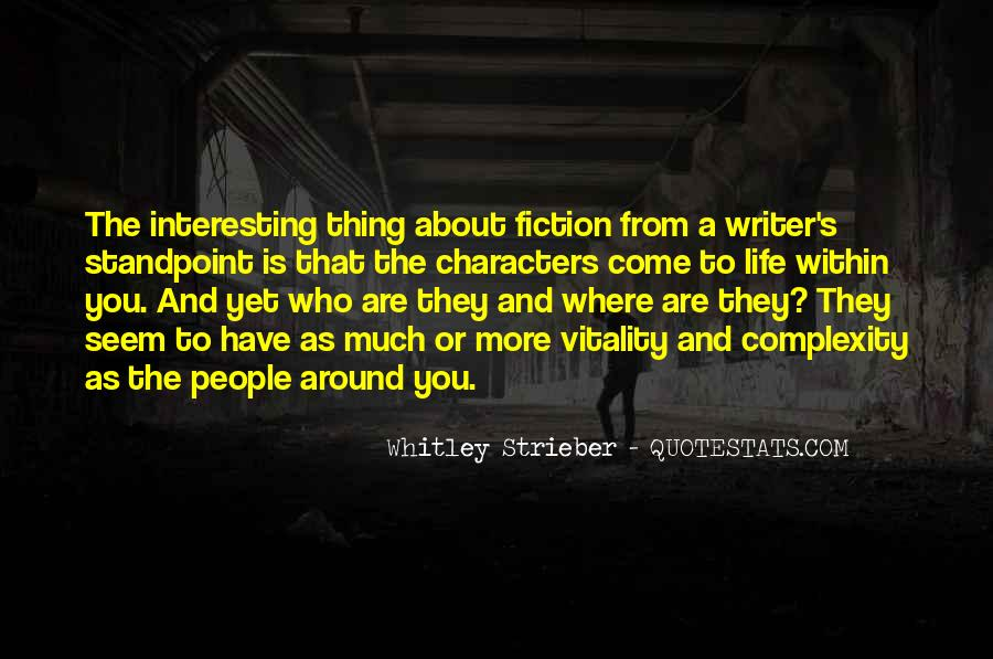 Whitley Strieber Quotes #1085383