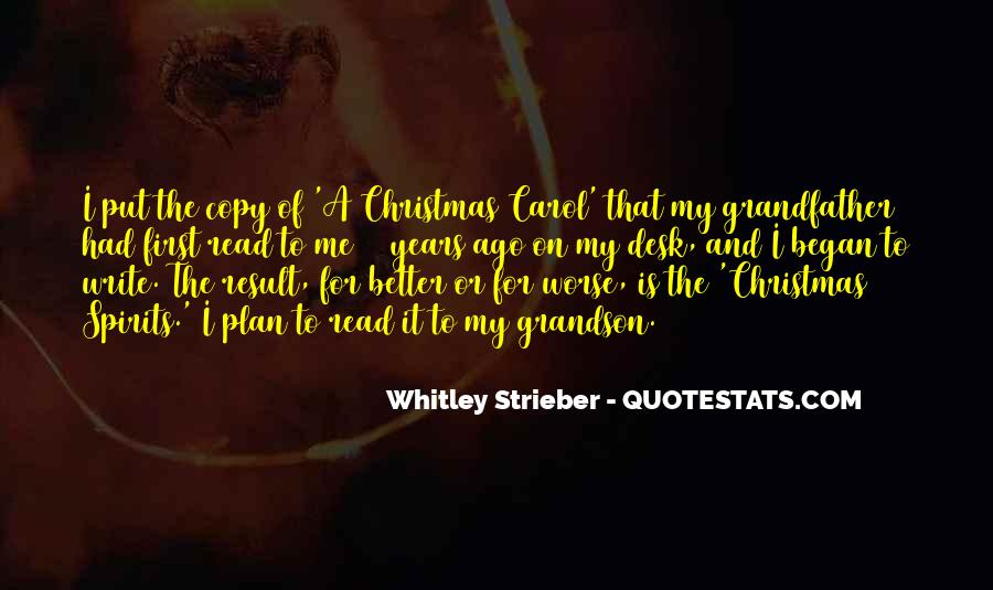 Whitley Strieber Quotes #382161