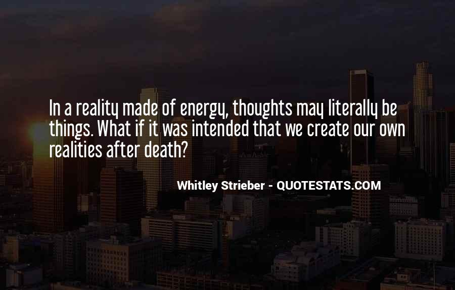 Whitley Strieber Quotes #633380