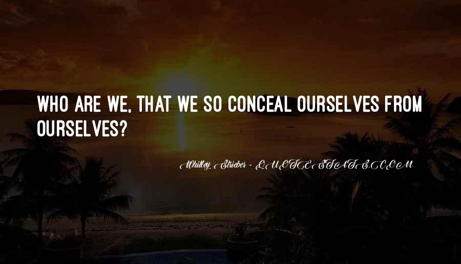 Whitley Strieber Quotes #93172