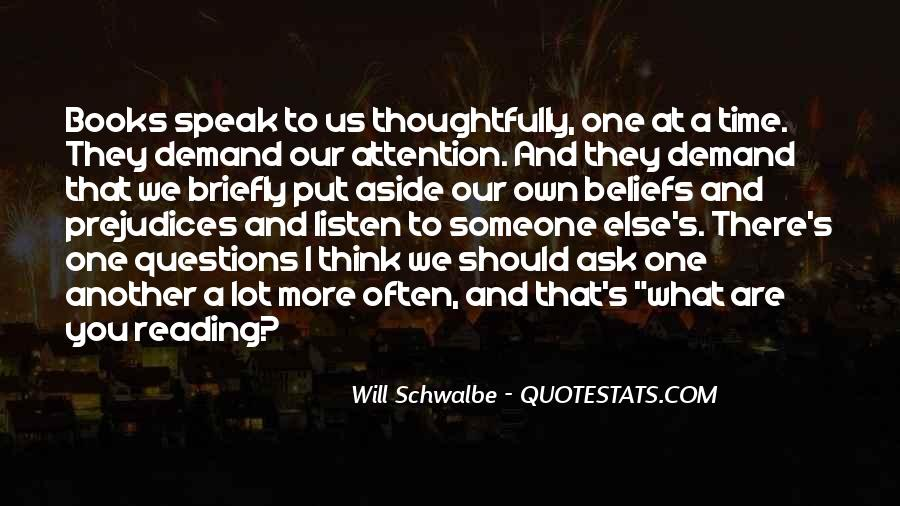 Will Schwalbe Quotes #570696