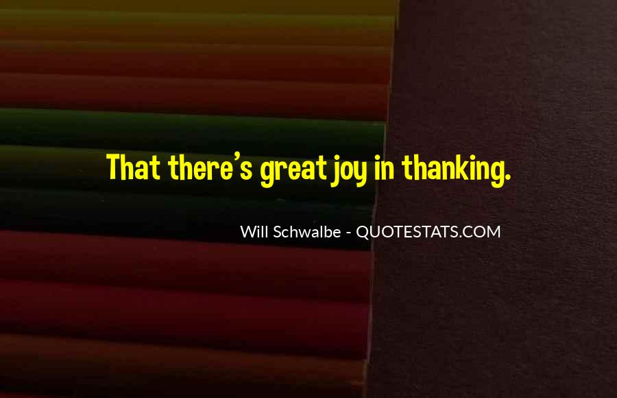 Will Schwalbe Quotes #974883