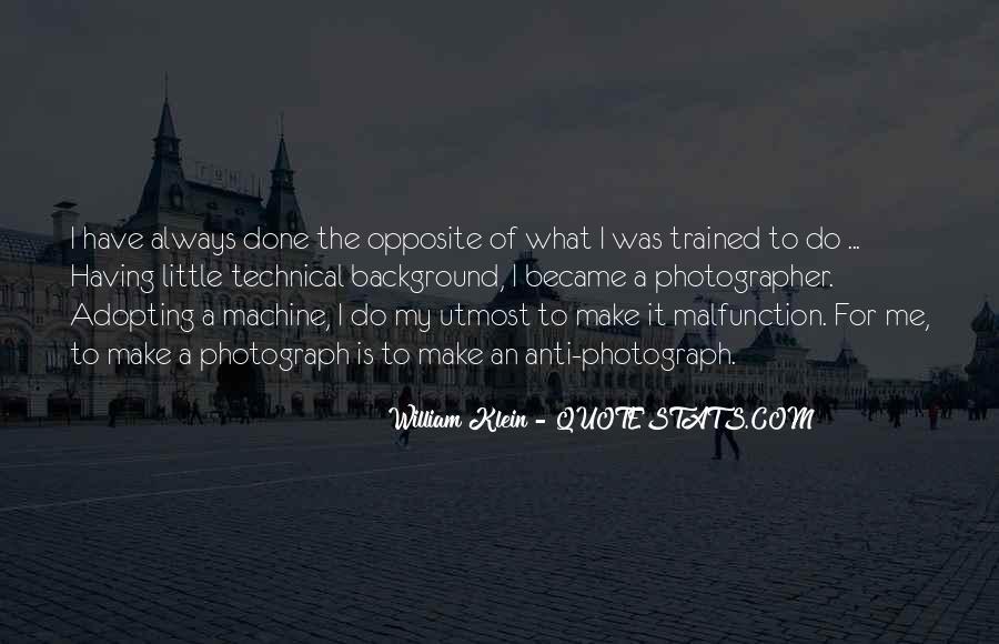 William Klein Quotes #22629