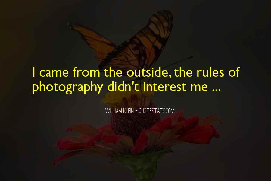 William Klein Quotes #499426