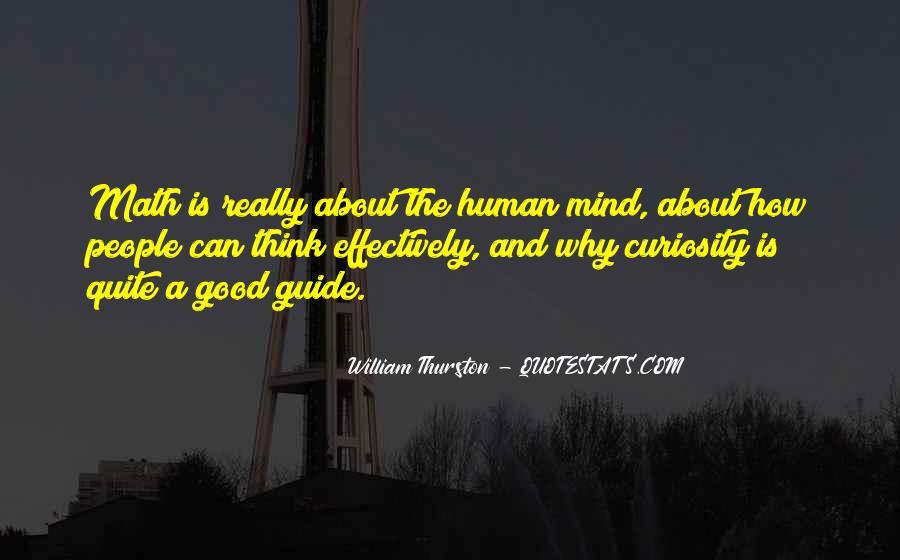 William Thurston Quotes #1241683
