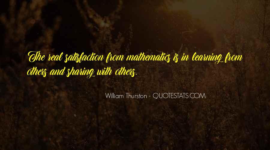 William Thurston Quotes #177599