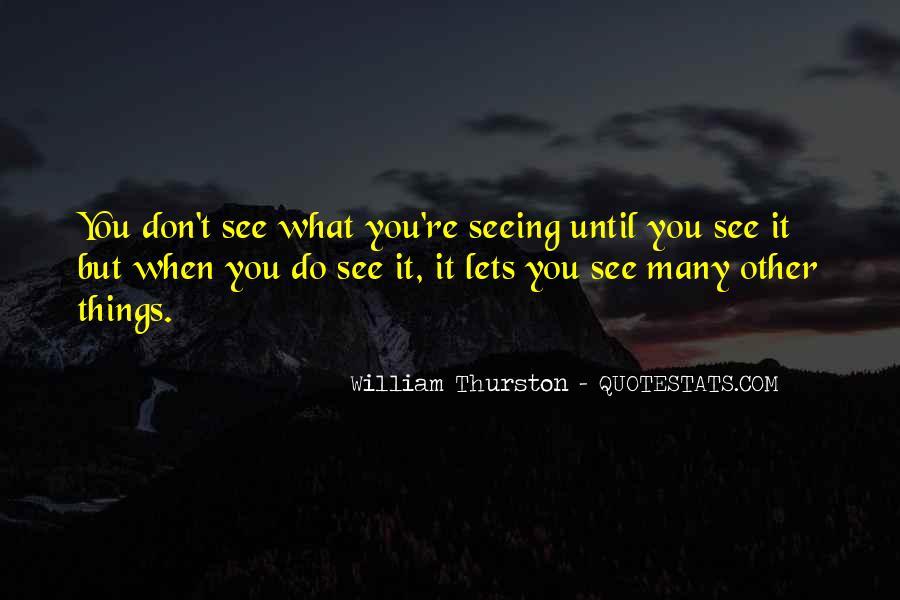 William Thurston Quotes #460005
