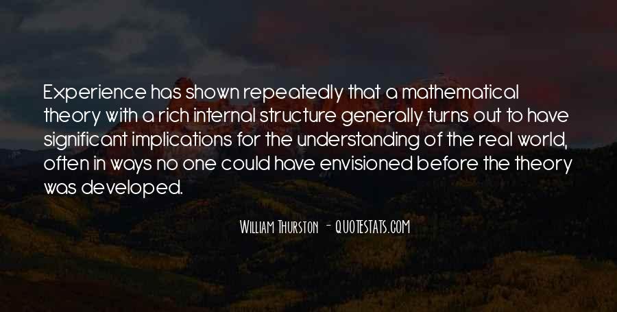 William Thurston Quotes #679212