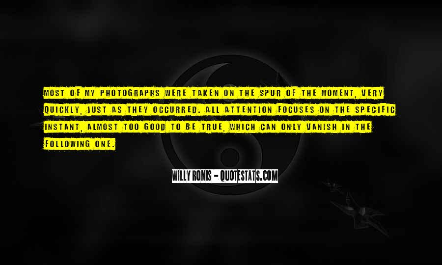 Willy Ronis Quotes #941781