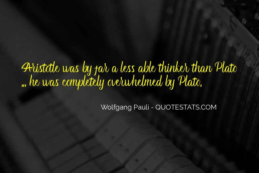 Wolfgang Pauli Quotes #131792