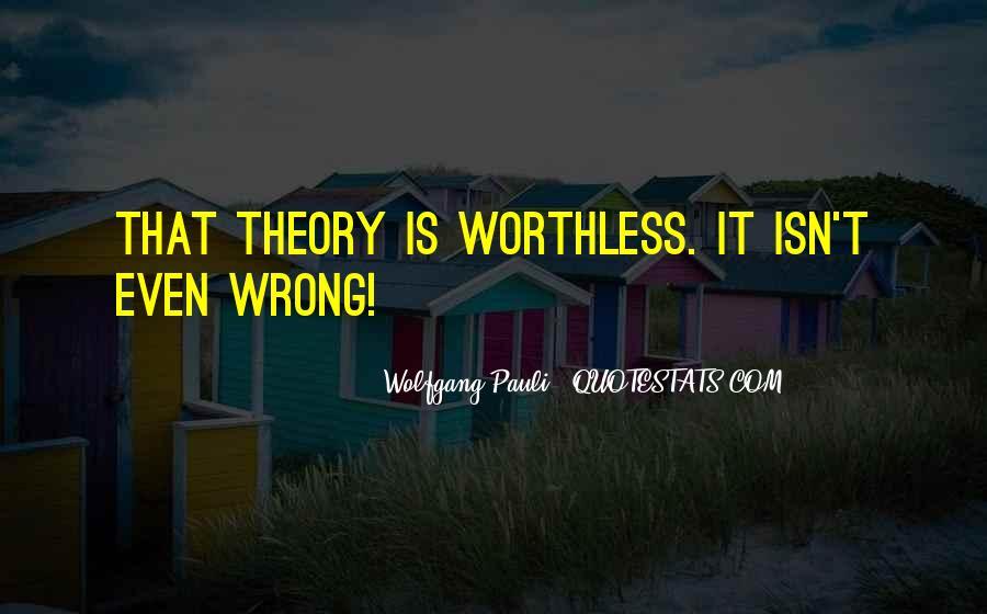 Wolfgang Pauli Quotes #36942