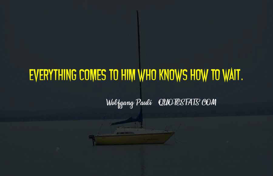 Wolfgang Pauli Quotes #765708