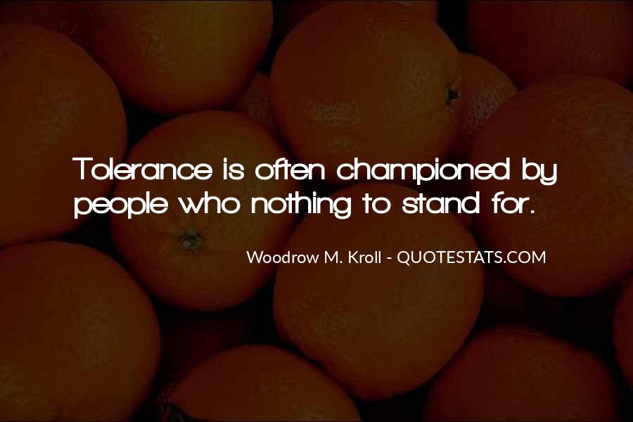 Woodrow Kroll Quotes #1357600