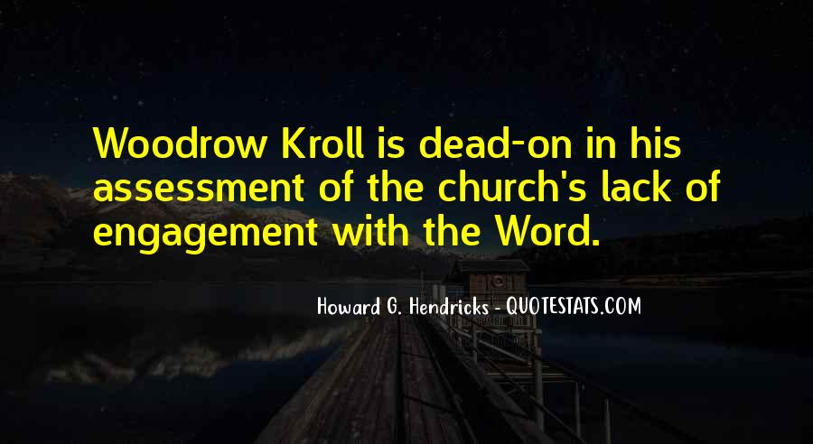 Woodrow Kroll Quotes #614443