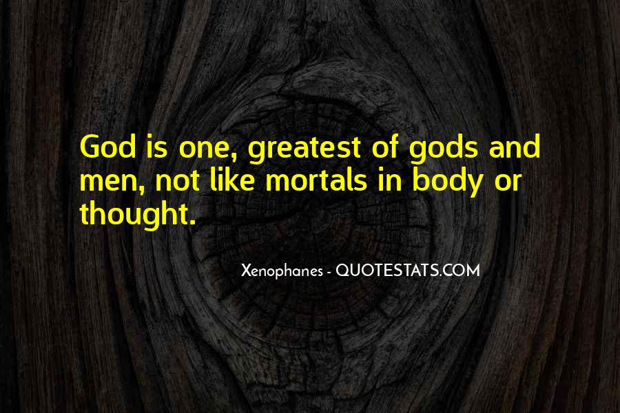 Xenophanes Quotes #1188702