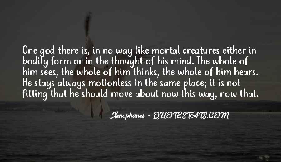 Xenophanes Quotes #1281125